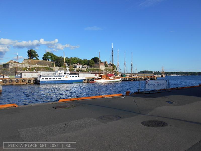 Oslo, ferry terminal