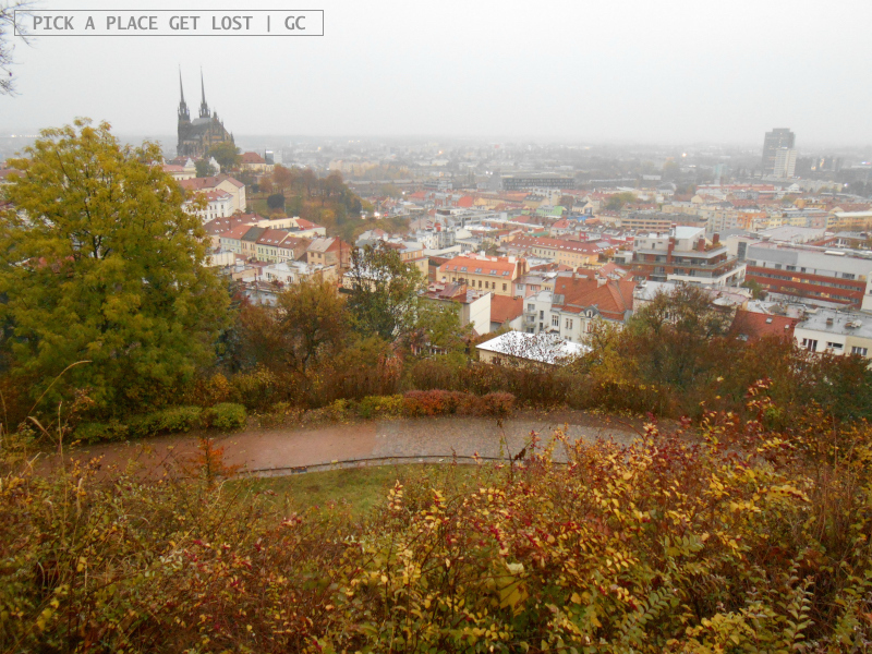 Brno, view from Špilberk Castle