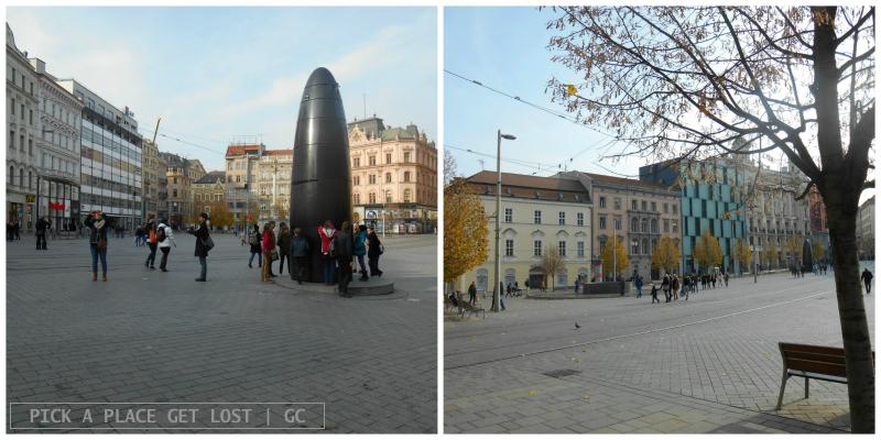 Brno, náměstí Svobody
