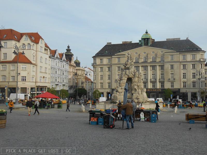 Brno, Zelný trh