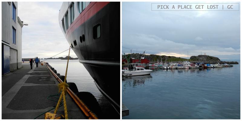 Hurtigruten voyage. Stamsund