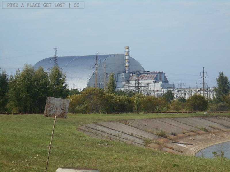 Chernobyl 10-km Zone, reactor 4