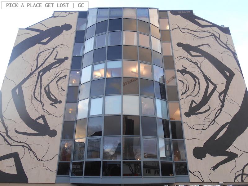 Bodø street art. David de la Mano, Malstrøm