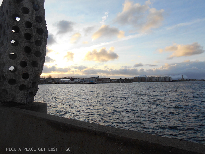 Bodø, Tony Cragg's art installation