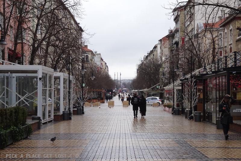 Sofia, Vitosha Street