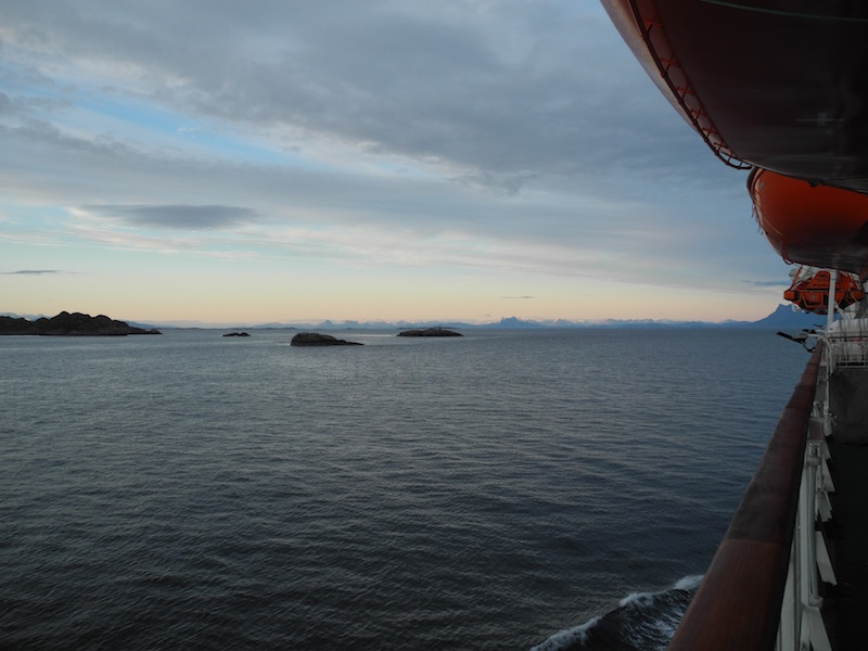 Hurtigruten night voyage