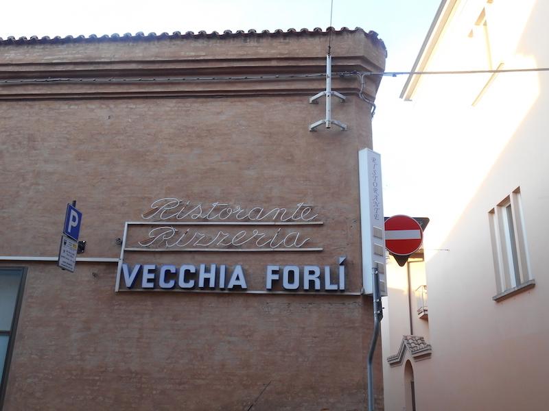 Forlì. Restaurant 'Vecchia Forlì'
