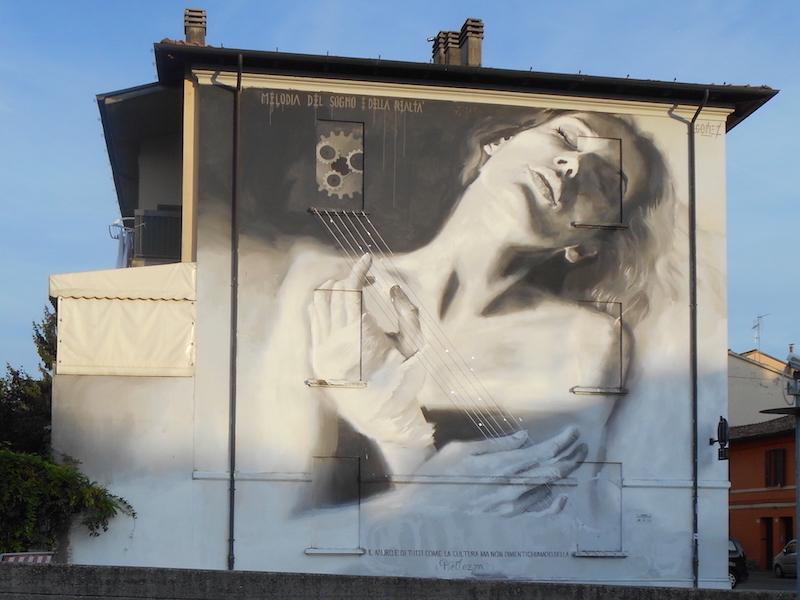 Forlì. Graffiti by Gomez