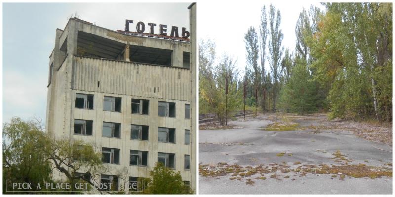 Zona di alienazione di Chernobyl, Pripjat'
