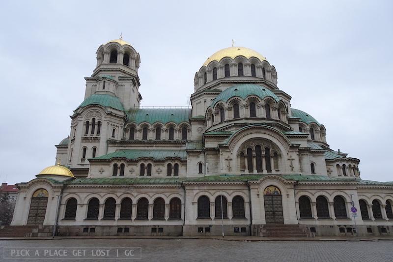 Sofia, Cattedrale di Alexander Nevsky