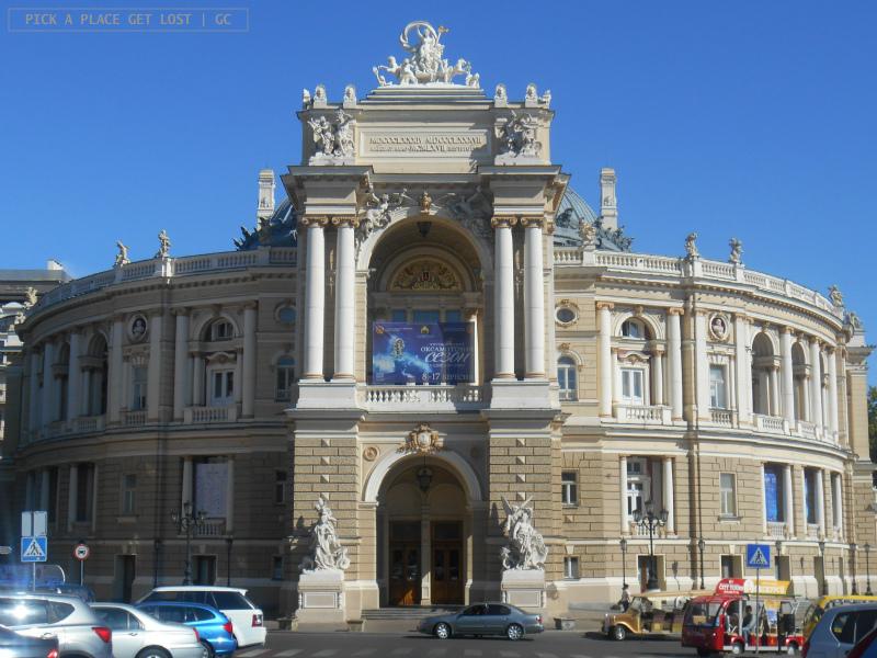Odessa, Teatro dell'Opera e Balletto