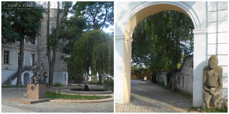 Odessa, Giardino delle Sculture