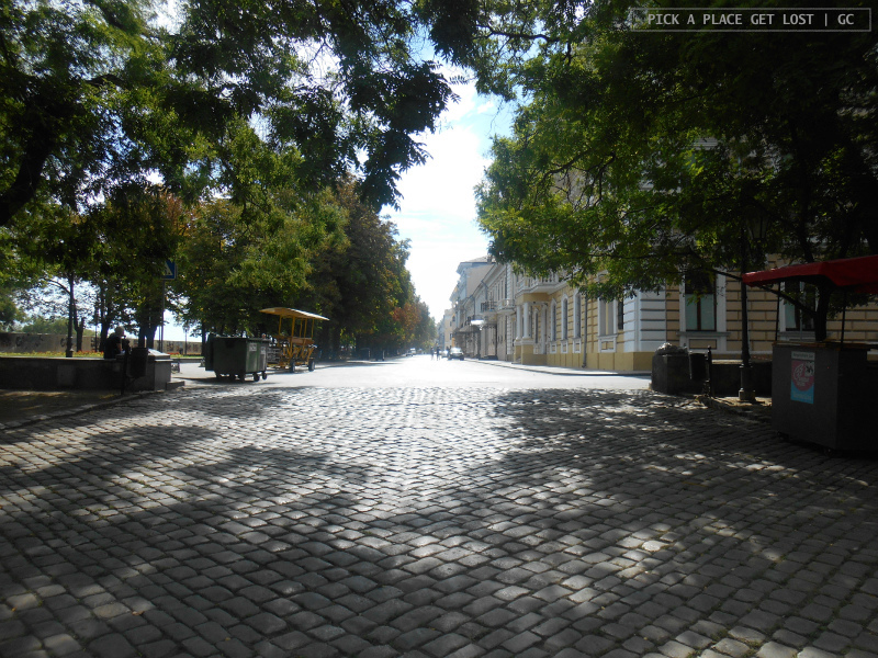 Odessa, Boulevard Primorsky