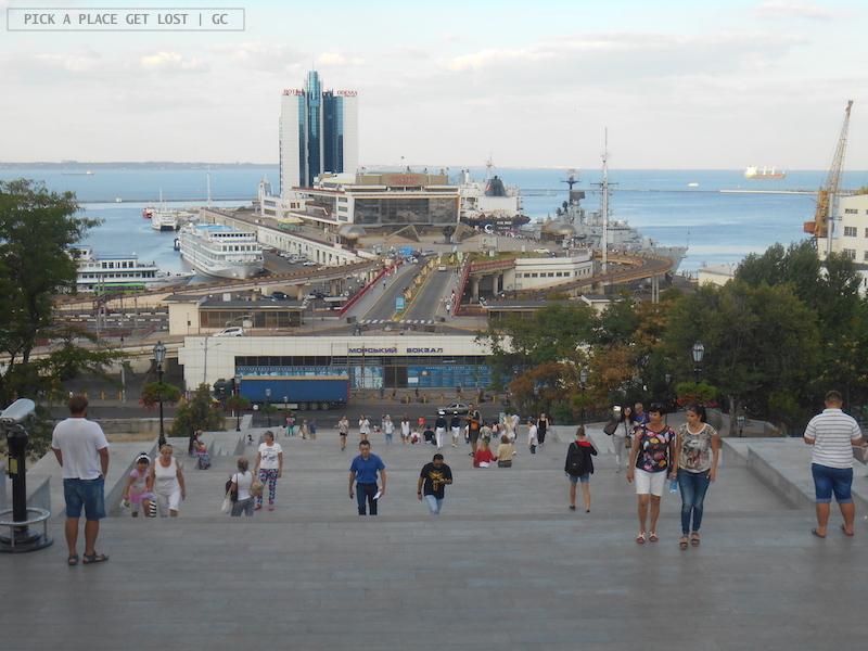 Odessa, Scalinata Potëmkin