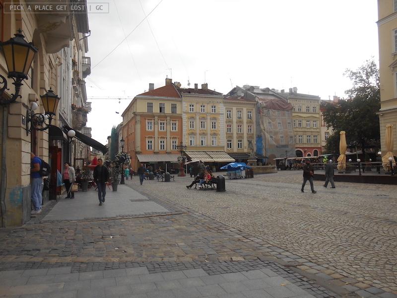 Lviv, Ploshcha Rynok