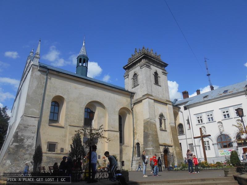 Lviv, Chiesa e Monastero Benedettini