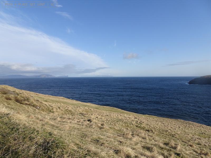 Isole Faroe. Verso Trollkonufingur, Vagar