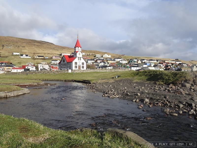Faroe. Sandavagur, Vagar