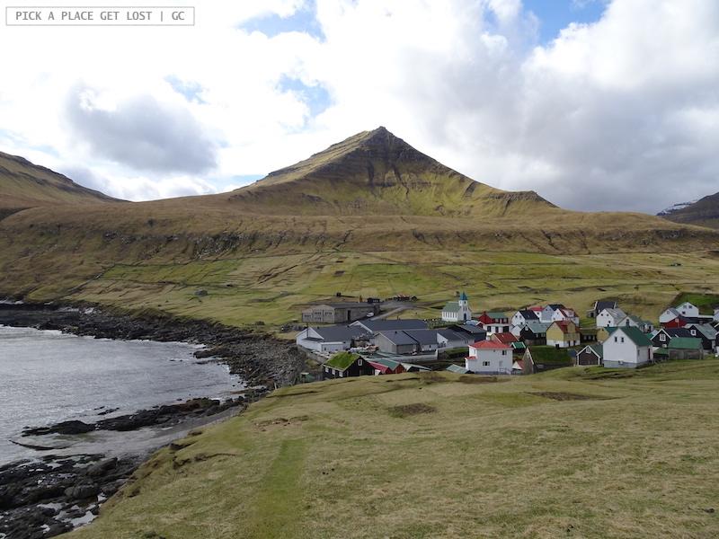 Faroe. Gjogv, Eysturoy