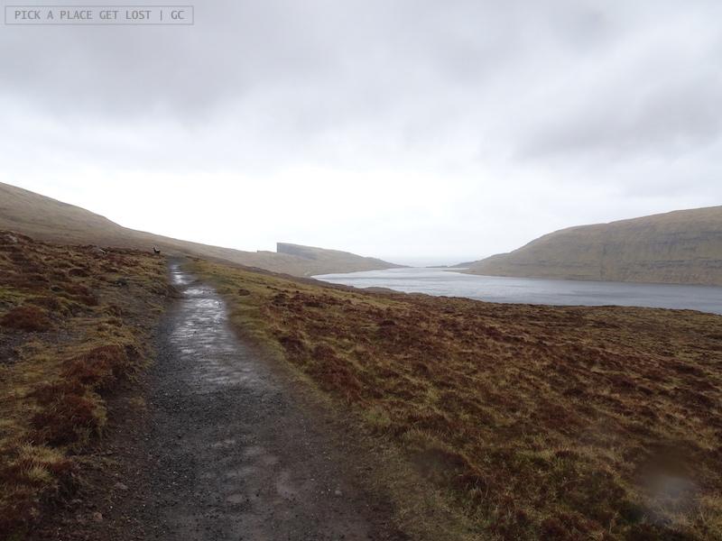 Faroe Islands. Sørvágsvatn