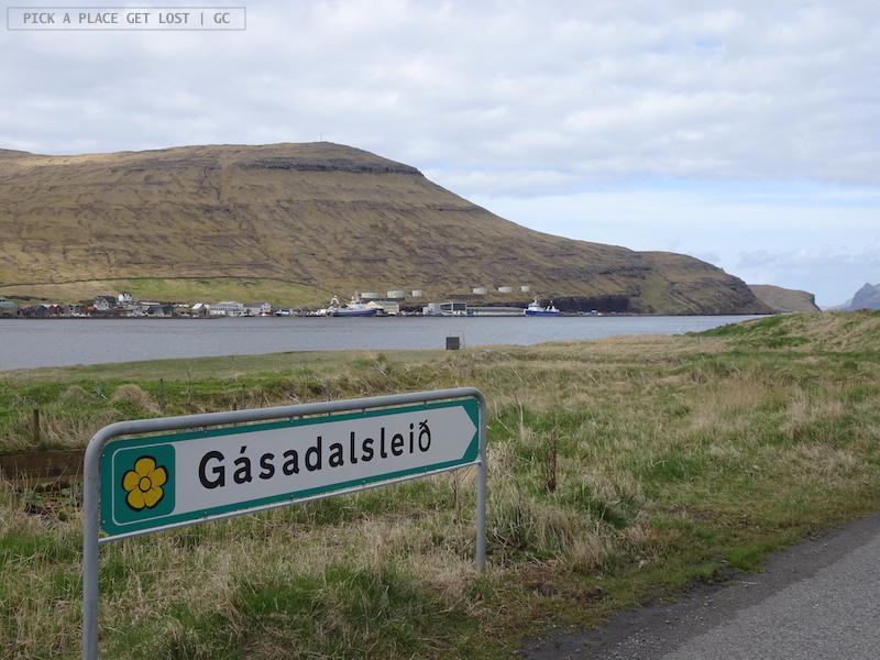 Strada verso Gásadalur