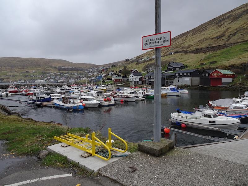 Isole Faroe. Vestmanna
