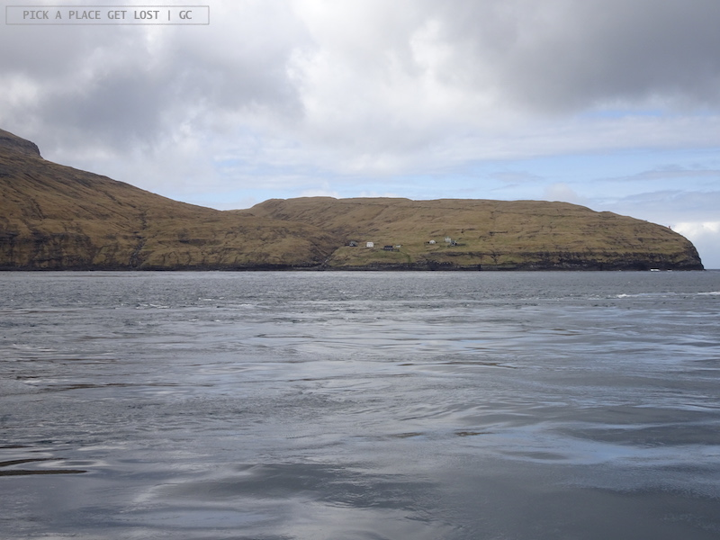 Isole Faroe. Slættanes