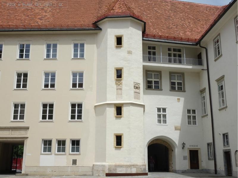 Graz, scala a doppia elica