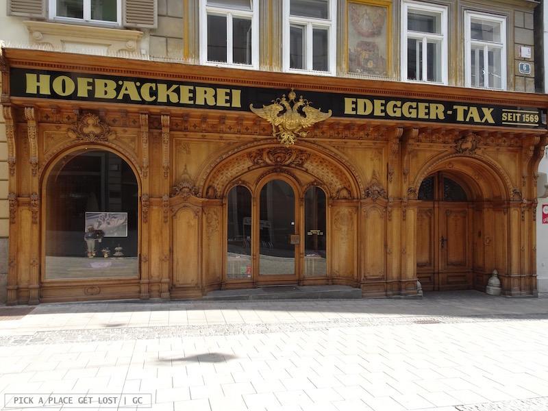 Graz, Hofbäckerei Edegger-Tax (oldest bakery in the city)