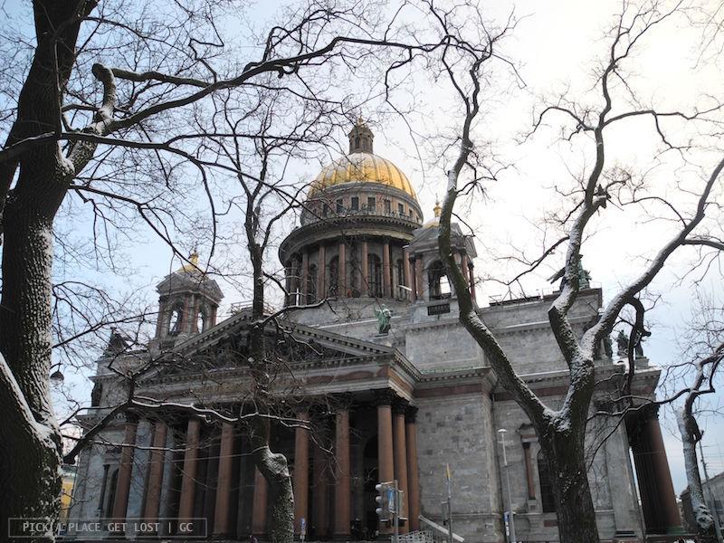 San Pietroburgo. Cattedrale di Sant'Isacco