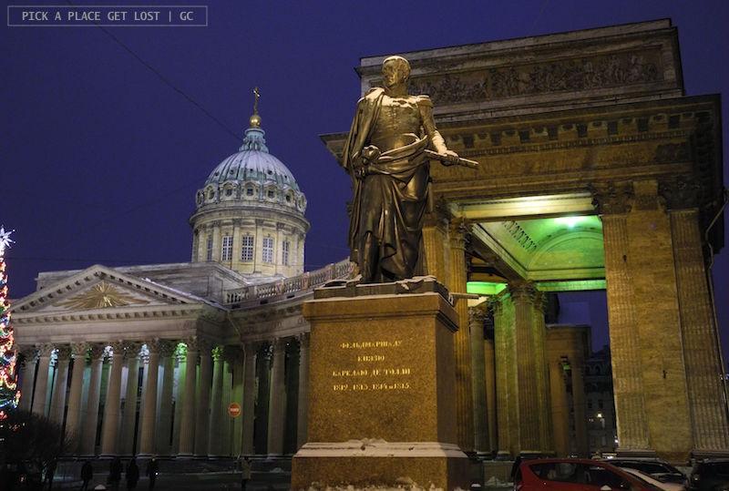 San Pietroburgo. Cattedrale di Kazan