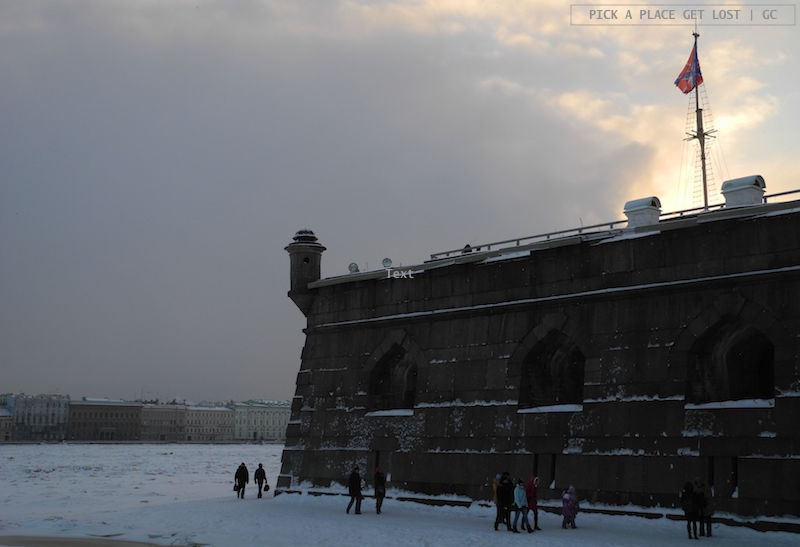 Saint Petersburg. Peter and Paul Fortress