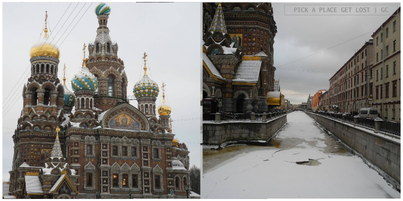 Saint Petersburg. Church of the Saviour on the Spilled Blood