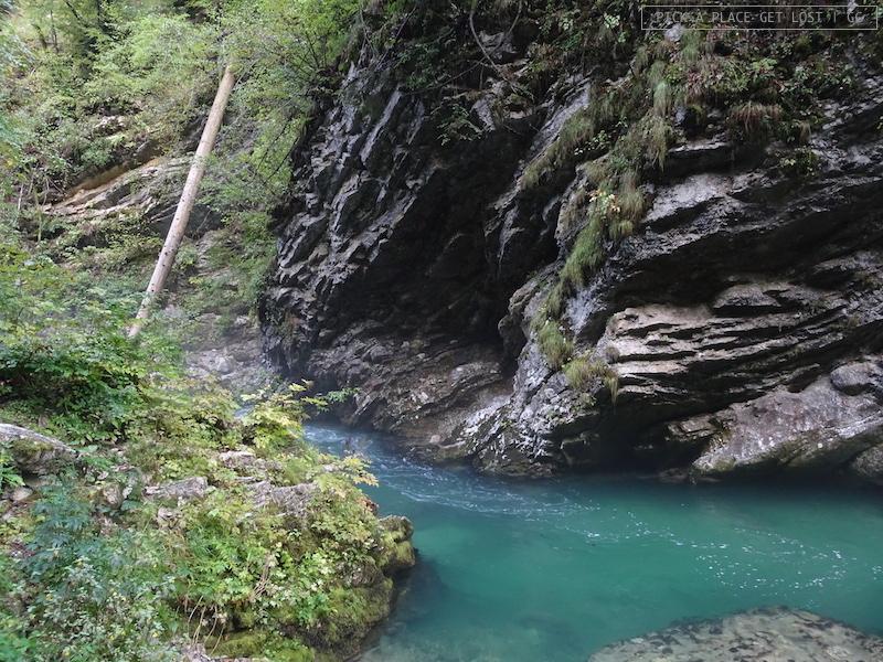 Slovenia, Gola di Vintgar