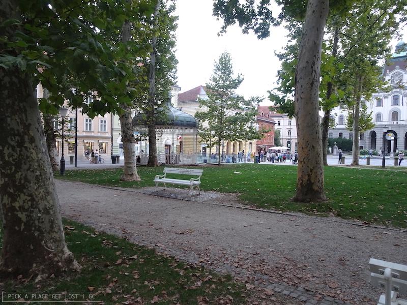 Lubiana, Kongresni trg