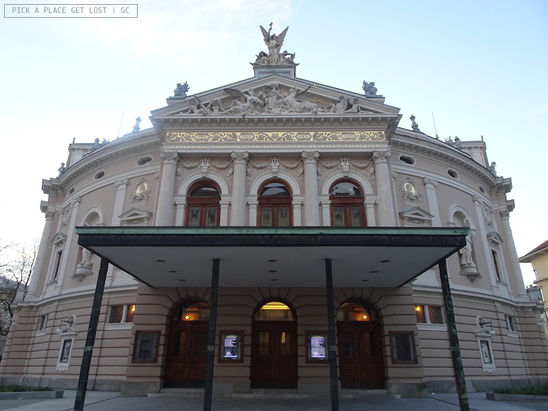 Ljubljana, Opera and Ballet Theatre