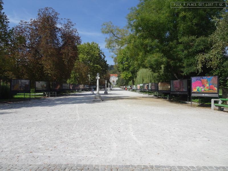 Lubiana, Parco Tivoli