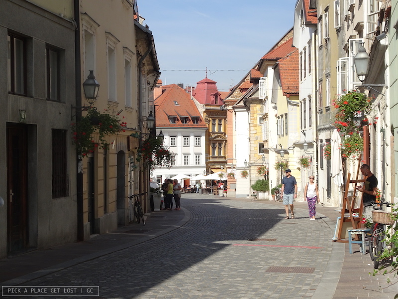 Lubiana, Gornji trg