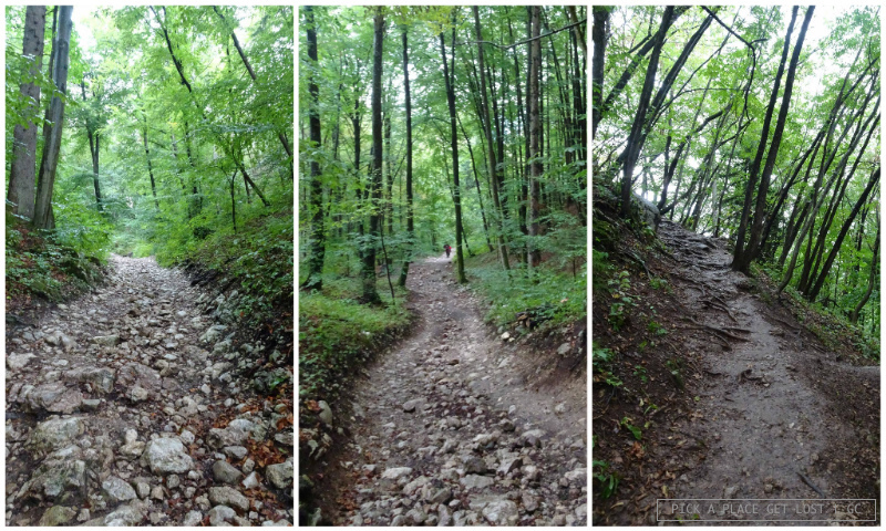 Slovenia, Bled. Ojstrica hike