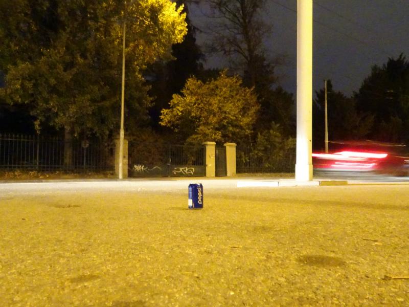 Dark Outside In Brno. Hlinky
