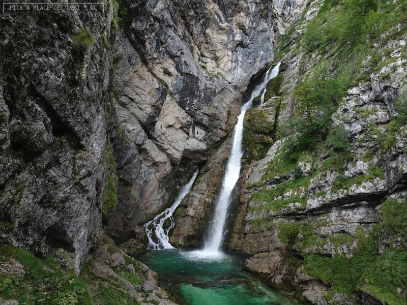 Slovenia, Cascata di Savica