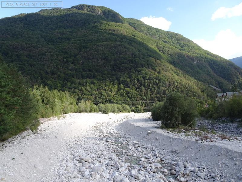 Slovenia, Cascata Boka
