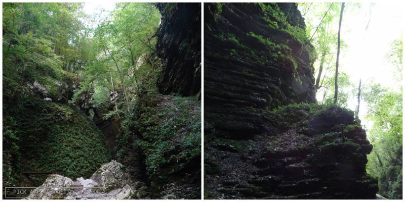 Slovenia, Kozjak Waterfall