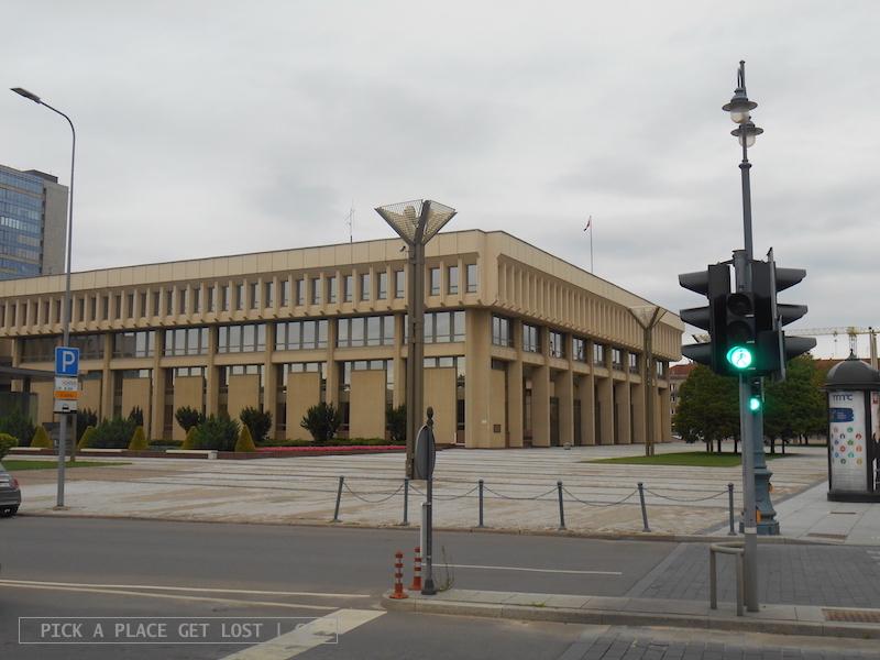 Vilnius, Parlamento