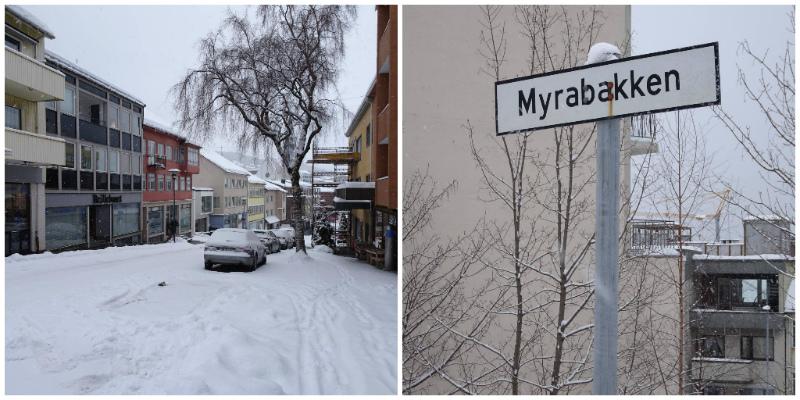 Norvegia. Molde, Myrabakken