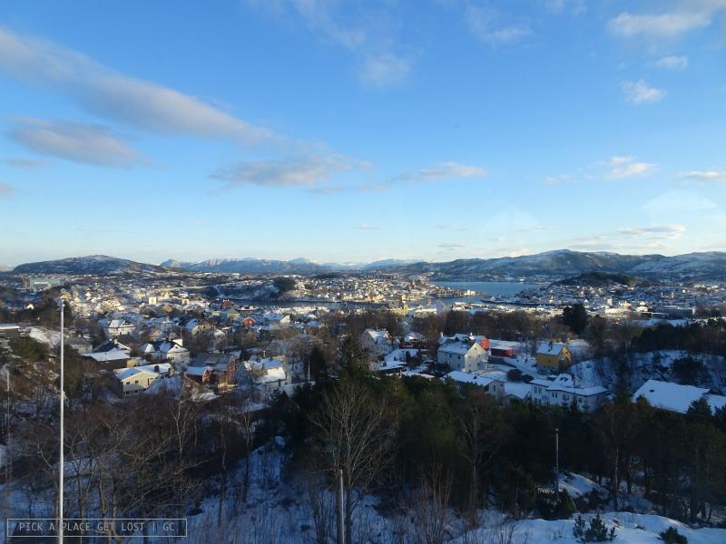 Norway. Kristiansund, view from Varden
