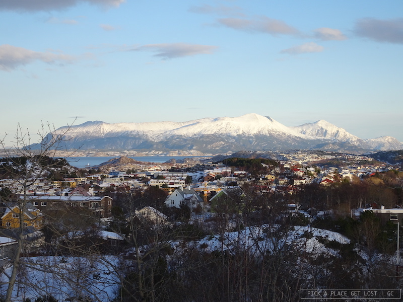 Norway. Kristiansund, view from Varden