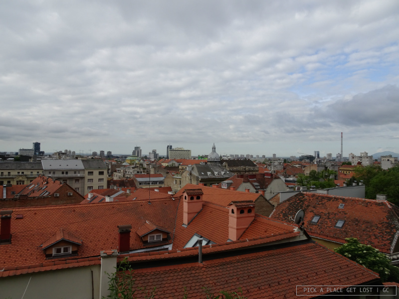 Zagreb. View from Gradec