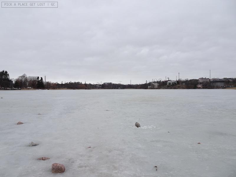 Helsinki. Baia di Töölö