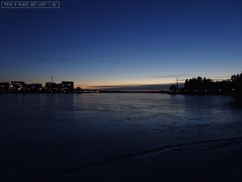 Helsinki. Seurasaarenselkä Bay